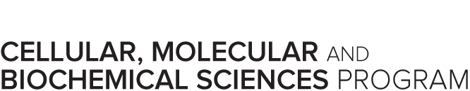 Cellular, Molecular and Biochemical Sciences Program