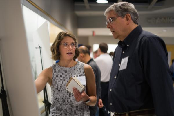 Picture from 2019 CMBP/Center for RNA Biolgy Symposium Poster Session